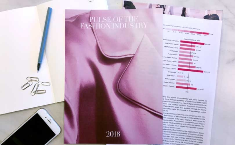 Global Fashion Agenda publica su informe Pulse of the Fashion Industry 2018